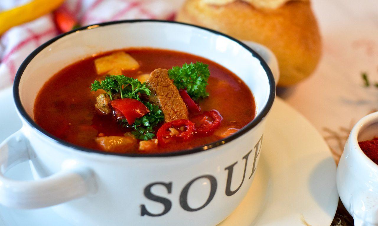 Суп гуляш из говядины рецепт